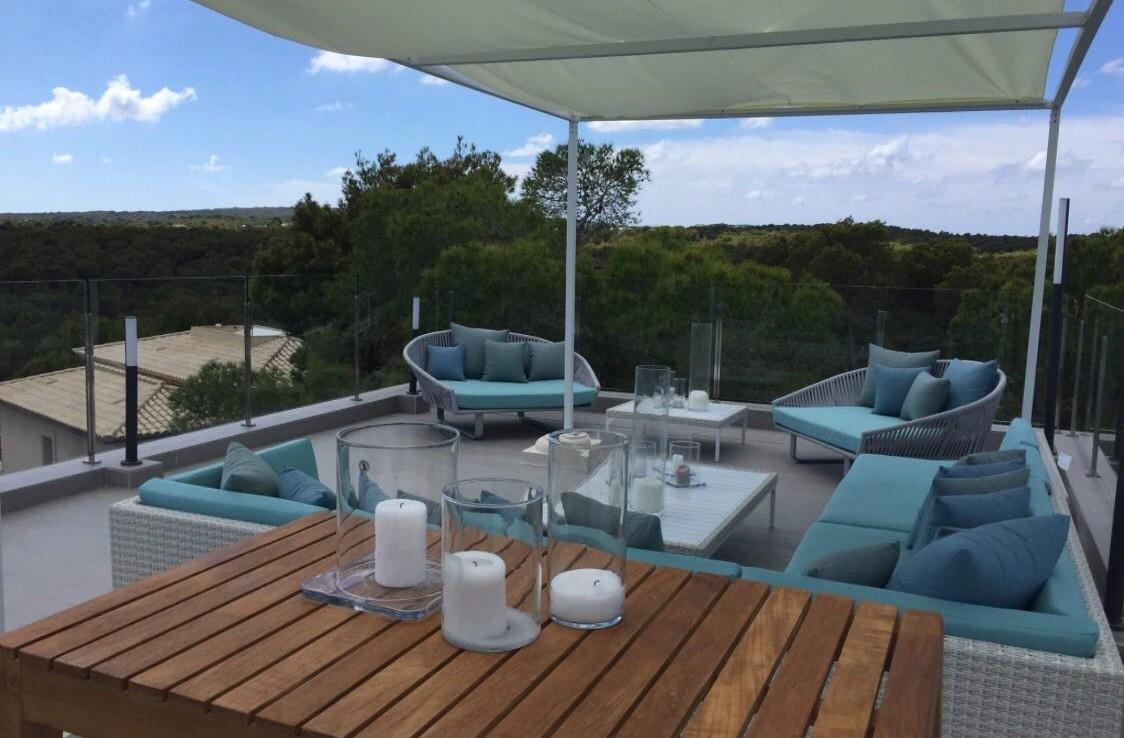 holiday villa mallorca roof top