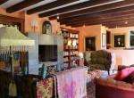 unique property on a vast plot living room