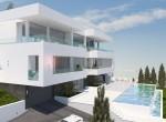 Cubist style villa