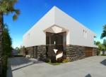 new to be built designer villa