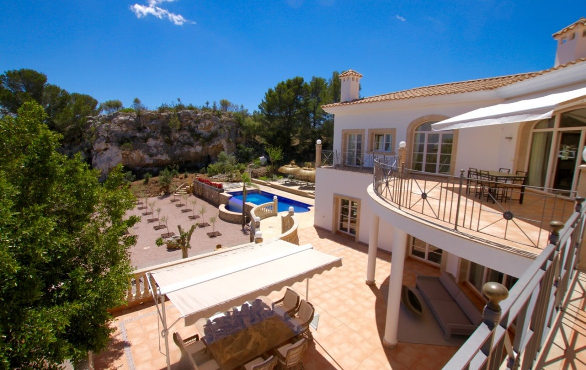 luxury holiday villa son vida mallorca