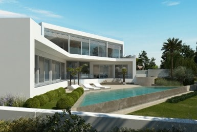 Cubist villa for sale mallorca