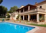 traditional villa mallorca costa blanes ext